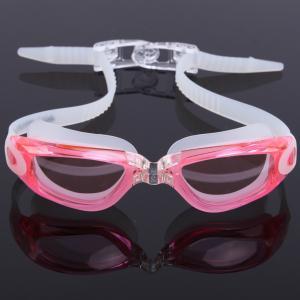 Fast Release Belt Anti Fog Swim Goggles Anti Ultraviolet With 3D Ergonomic Design Manufactures