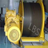 Electric Lifting Winch with Spooling Device Manufactures