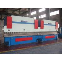 China Two Huge Sheet Metal Bending Machine Hydraulic System Light Pole Synchronization CNC Control on sale