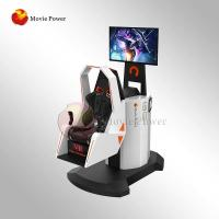 Immersive Virtual Reality Chair VR Motion Simulator 9D 360 Degree Rotating Manufactures