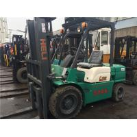 3.5 Ton CPCD35 Green Color Used Forklift , China Forklift Truck Manufactures