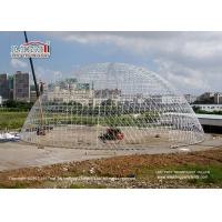 Large Durable Steel Diameter 55m Geodesic Dome Tents for Luxury Outdoor Event Manufactures