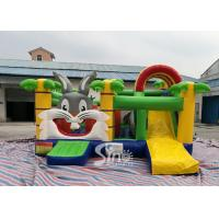 Kids Party Jungle Rabbit  Inflatable Bouncy Castle for Indoor Inflatable Indoor Playground Fun Manufactures