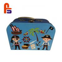 Recyclable Featuring Cardboard Suitcase Box Silver Hot Stamping Technology Manufactures