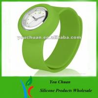 Promotional Slap / Snap Band Watches Manufactures