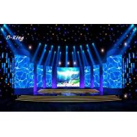 HD P8 Stage Background LED Screen With 1R1G1B SMD0805 , Module Size 256*128mm Manufactures