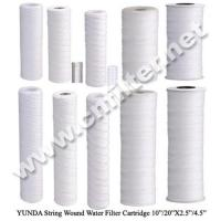 PP Sediment String Wound Water Filter Cartridge Manufactures