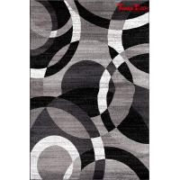 Gray Bedroom Contemporary Area Rugs , Large Living Room Area Rugs Stains Fading Resist Manufactures