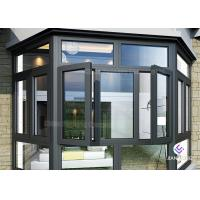 Powder Coating Frames Aluminium Windows And Doors With Mosquito Nets Manufactures