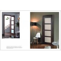 China Sound Proof Side Hinged Door, 2050*800mm Fir Wood Vertical Hinged Door For Decoration on sale