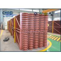 Boiler Exhaust Heat Recovery System Low Temperature Economizer For CFB/ HRSG Boiler Manufactures