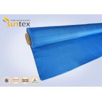 Colored Glass Fiber Fire Curtain Fabric For Meeting Hall Fire Door Manufactures