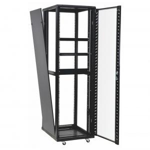 China 42u 37u Perforated Door Network Equipment Rack Floor Standing Data Center Cabinet on sale
