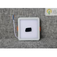 Easy Replacement LED Slim Panel 6 W 350lm IP20 Square Led Downlights Manufactures