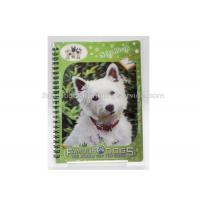 3D PET/PP/PVC Notebooks 3d Lenticular Cover A6 Jotter For Gift / Premium Manufactures