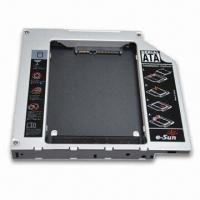 Quality Universal Second HDD Caddy with 12.7mm Height, Measures 129 x 128 x 12.7mm  for sale
