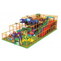 China Kids Indoor Playground Equipments with 150mm Joint Venture Plywood A-08802 on sale