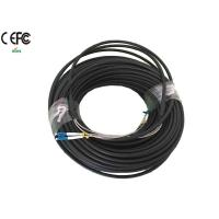 Duplex LC CPRI Cable 2 fibers Single mode 9/125um OD 8mm , 8.5mm , 9mm Manufactures