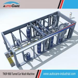 Automatic belt conveyor car washing machine/ Automated tunnel car washer with nine brushes Manufactures