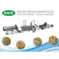 Food Grade Stainless Steel Fried Wheat Flour Snacks Processing machine Manufactures