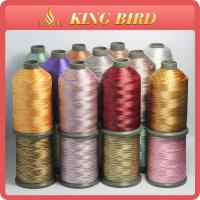 Variegated Polyester Brother Embroidery Threads 108D/2 With Quilting Manufactures
