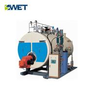 2 T / H Natural Gas Steam Boiler For Paper Industry , High Efficiency Gas Boiler Manufactures