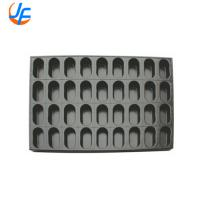 Quality Custom Size Pullman Loaf Pan / Aluminum Square Non Stick Hot Dog Bun Pan for sale