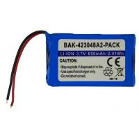 Buy cheap BAK-423048A2-PACK 3.7V 650mAh Rechargeable Lithium-ion Battery UL1642 approved from wholesalers