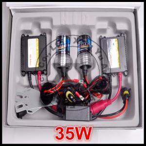 35W 12V DC super bright HID conversion kit 6000K H1 H3 H7 H11 auto Xenon light Manufactures