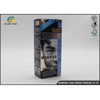 China Glossy Custom Printed Packaging Boxes For Fashion Hair Dye Product on sale