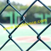 China High Strength Chain Link Security Fence 1.0mm-6.0mm Wire Diameter Wonderful Shape on sale