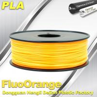 1.75mm PLA   Fluorescent  Filament  3D Print Material Stiffness High Manufactures
