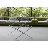Adjustable Portable Clothes Drying Rack , Household Indoor Cloth Drying Stand Manufactures