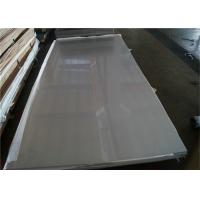 China Rectangular  5mm Stainless Steel Plate , Polished Sheet Metal ASTM A240 904L on sale