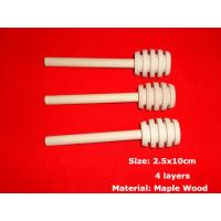 Solid Wooden Honey Dipper 100% Natural Honey Dippers Wooden Honey Stick Pack Honey Dipper Wedding Favor Genuine 10x2.5cm Manufactures
