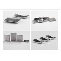 Permanent N35 / N45 Neodymium Segment Magnets With High Strength Custom Size Manufactures