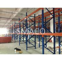 Heavy Duty Warehouse Industrial Pallet Racking / 88*40*1.3 cm Box Beams Manufactures