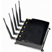 Adjustable Desktop Five Bands Signal Jammer for Cell Phone, GPS, WiFi Manufactures