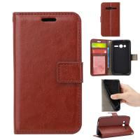 Light Weight Alcatel Pixi 4 Leather Case 4 Inch Flexible With Three Cards Slot Manufactures