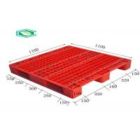 Racking Design Euro Plastic Export Pallets Single Faced Reinforced Rectangle Grid Manufactures