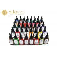 15ML Permanent Eyebrow Tattoo Ink Kit , 7 Colors Permanent Makeup Ink Manufactures