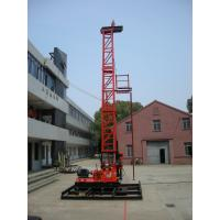 Core Drilling Rig Diamond Bit Torque 2650Nm , XY-4T Drilling Tower Manufactures