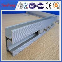 Anodized Aluminum Extrusion Solar Rail for Solar Mounting System from china supplier Manufactures