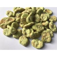 Agricultural Fava Bean Snacks Spicy , Dry Roasted Fava Beans Wasabi Flavor Manufactures