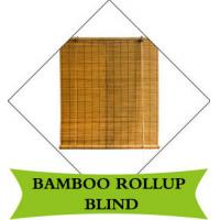 China Vertical Bamboo Roman Blinds , Outdoor Roll Up Bamboo Shades Long Lifespan on sale