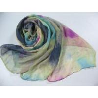 Rainbow Printed Polyester Scarf (HP-C2406) Manufactures