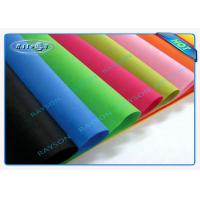 Full Color Range Fire Retardant Polypropylene Non Woven Fabric For Furniture Manufactures