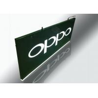 Buy cheap Hanging Light Box Signs , Lighted Outdoor Signs With Cutout Illuminated Letter from wholesalers