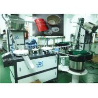 Ultrasonic Welding Plastic Cap Assembly Machine 25mm - 60mm Length Manufactures