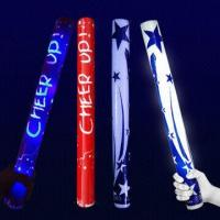Flashing Stick for 49cm Cheering Olympic Sports, LED Foam Light Manufactures